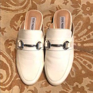 Steve Madden Women's Kandi White Paten Size 5.5